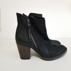 Steve madden size 9 ryat leather boots